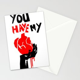 "You Have My ""Heart"" Stationery Cards"