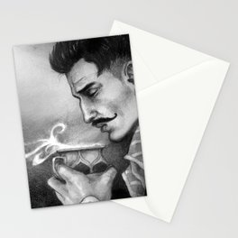 Dragon Age Inquisition - Dorian Pavus - Morning tea Stationery Cards