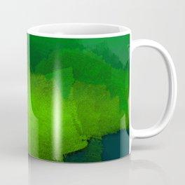 brush stroke aquamarine Coffee Mug