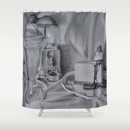 American Diner Shower Curtain