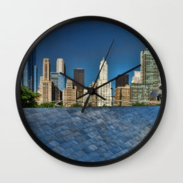 Chicago park Wall Clock