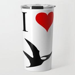I Love Dinosaurs - Pterodactyl Travel Mug