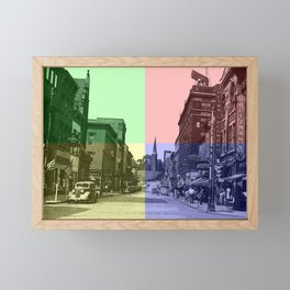 Baltimore St., Cumberland, Md. Framed Mini Art Print