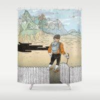 Backyard Adventure Shower Curtain