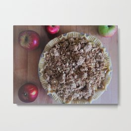 DUTCH APPLE PIE Metal Print