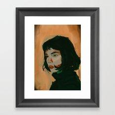 Josette Framed Art Print