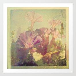 Wild Summer Flowers Art Print