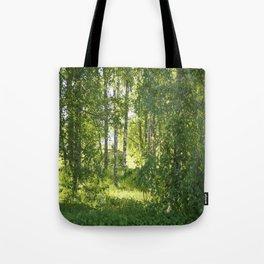 Beautiful Morning Summer Greenery #decor #society6 #buyart Tote Bag
