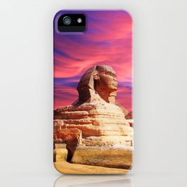 Great Sphinx of Giza, Egypt iPhone Case