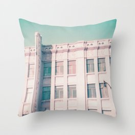 Los Angeles - Pacific, Hollywood Throw Pillow