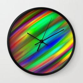 Plutonium Peppermint Wall Clock