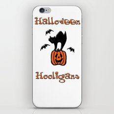 Halloween Hooligans iPhone Skin