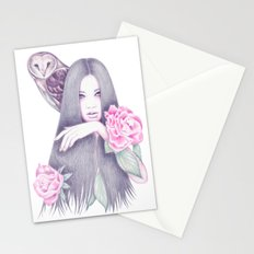 Moonlight And Roses Stationery Cards