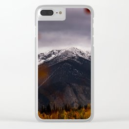 Silverthorne, USA Clear iPhone Case