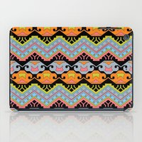 aztec iPad Cases featuring Aztec by Phoebe E