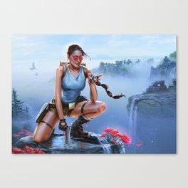 Aha! Canvas Print