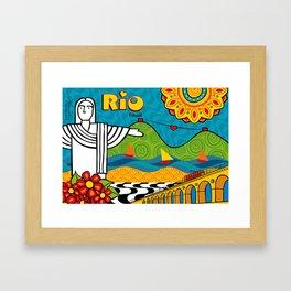 Rio de Janeiro 2015 Framed Art Print