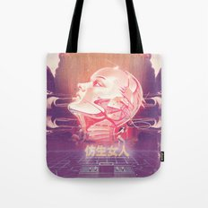 BIONIC WOMAN Tote Bag