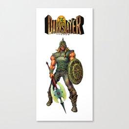 The Darkslayer  Canvas Print