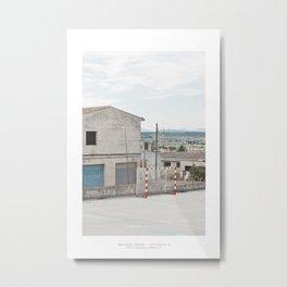 Città fantasma, Montuïri Metal Print