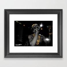 BLACK & GOLD: Trinidad James pt.2 Framed Art Print