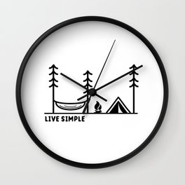 Live Simple Wall Clock