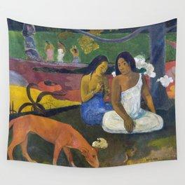 Arearea (Joyfulness) by Paul Gauguin (1892) Wall Tapestry