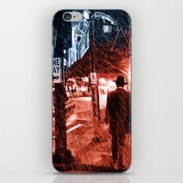 Walking Shadow iPhone Skin
