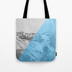 NEON NATURE   Blue Tote Bag