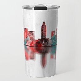 Baton Rouge Louisiana Skyline Travel Mug