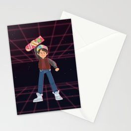 where's my hover board Stationery Cards