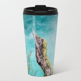 Spectacular view of a stormy ocean Travel Mug