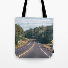 turn left Tote Bag