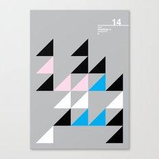 14_Wingdings_y Canvas Print