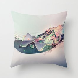 Organic Panic Throw Pillow