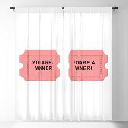 Red Ticket Blackout Curtain