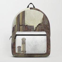 Manhatten Heating Station - SKETCH Backpack