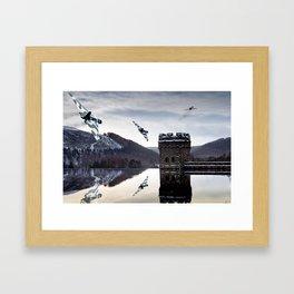 One, Two, Three! Framed Art Print