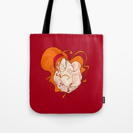 The breastfeeding Tote Bag
