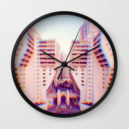 what world are you in Wall Clock