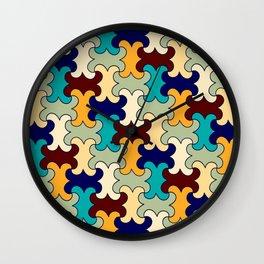 Puzzles Wall Clock