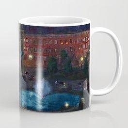 American Masterpiece 'Wet Night, Washington Square, Greenwich Village, NY' by John French Sloan Coffee Mug