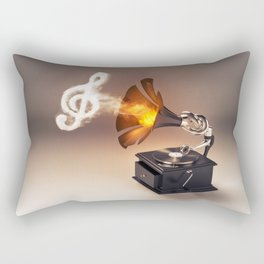 let the music play (just keep the groove) Rectangular Pillow