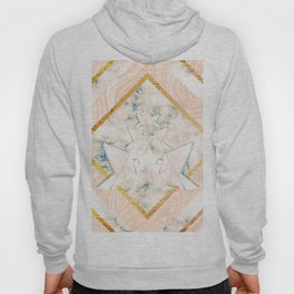 Paper doves on marble Hoody