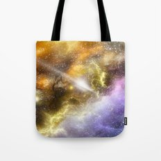 Space colours Tote Bag