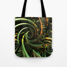 Snakes in the Grass Tote Bag