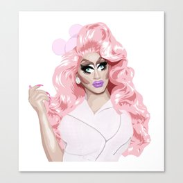 Trixie Mattel, RuPaul's Drag Race Queen Canvas Print