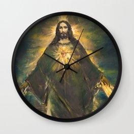 THE LIGHT OF THE WORLD III Wall Clock