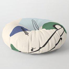 Tunnel Floor Pillow