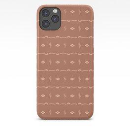 Adobe Cactus Pattern iPhone Case